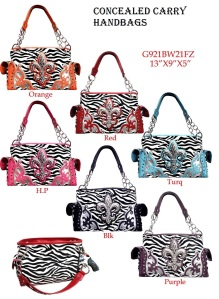 Wholesale Fashion Concealed Handgun Purses