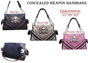 Wholesale Fashion Concealed Weapon Handbags
