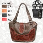 Montana West Leather Concealed Handgun Purse